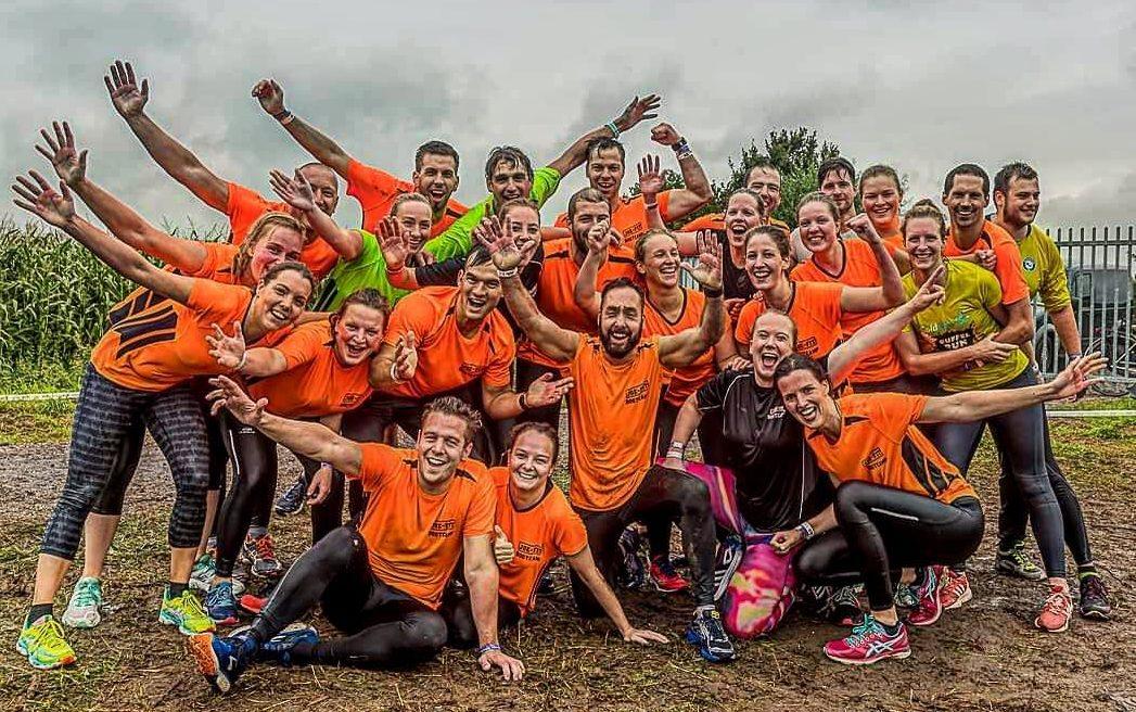 JOE-FIT bootcamp club Oosterhout tijdens mud run